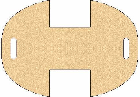 felt basket pattern cestino