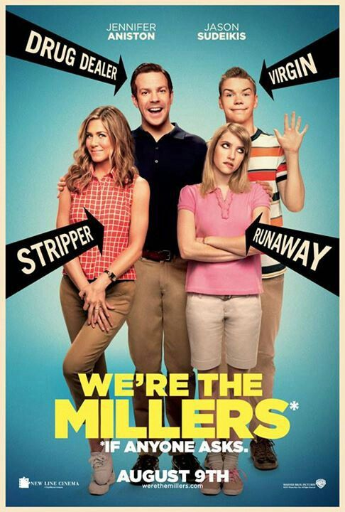 We're The Millers starring Jennifer Aniston and Jason Sudeikis, in theatres now! I cannot WAIT to go see this one, it looks absolutely HILARIOUS!