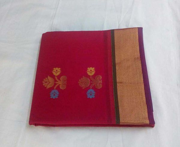 kota mercerized cotton saree