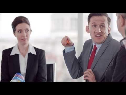Kind of weird, kind of funny. New HARIBO Starmix advert 2014 - Boardroom (HD version)
