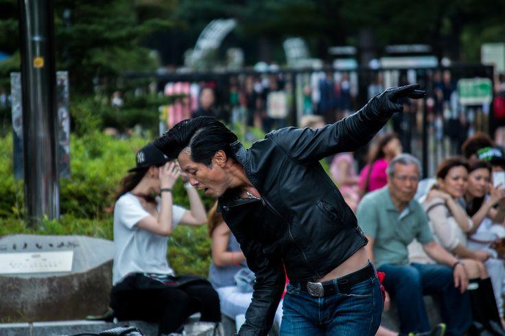 Rockabillies in Yoyogi Park