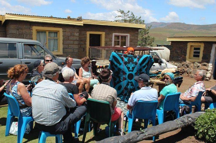 Experience Lesotho culture around Semonkong... #TravelTuesday A traditional blanket presentation is just one of the cultural activities you can book on your next trip to the Lodge. For more information, visit: www.semonkonglodge.com
