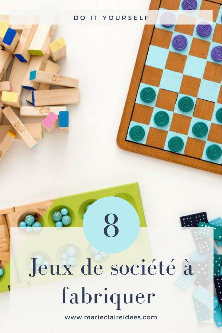 Des idées de jeux de société à fabriquer / DIY jeux de société
