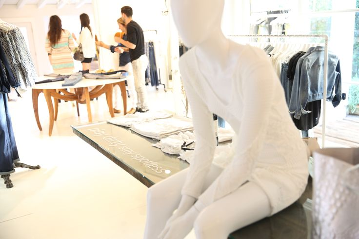 Play Dirty Stay Spotless Collection at Joe's Jeans Melrose Boutique