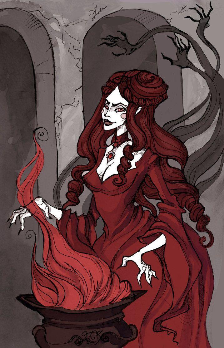 Melisandre by Ksenia Svincova / IrenHorrors