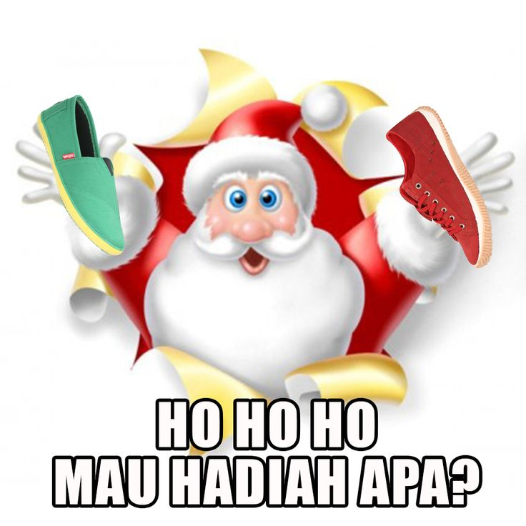 Di suatu malam Natal, Dedi menaruh kaus kaki Natal di depan pintu untuk meminta hadiah pada Santa Claus. Tapi karena malas beli kaus kaki Natal di supermarket, Dedi membuat kaus kaki tersebut dari koran seadanya.  Kemudian Santa Claus pun datang.  Setelah menaruh kotak kado, Santa Claus segera pergi. Dedi pun tak sabar dan segera membuka kotak kadonya. Dedi benar-benar menerima sepatu! Namun, Dedi hanya bisa terpaku menatap kadonya. Sepatu itu juga terbuat dari koran…