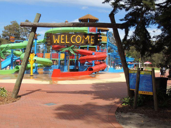 The Biggest Thing To Happen To Perth, Australia: Outback Splash | Travel with Bender #familytravel #australia #perth