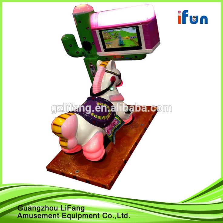 Factory Top sale product coin pusher Most popular 3D horse racing