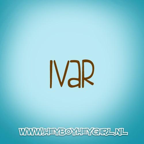 Ivar (Voor meer inspiratie, en unieke geboortekaartjes kijk op www.heyboyheygirl.nl)