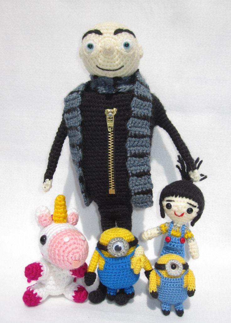 Amigurumi Unicornio Gru : Best images about dolls amigurumi crochet on