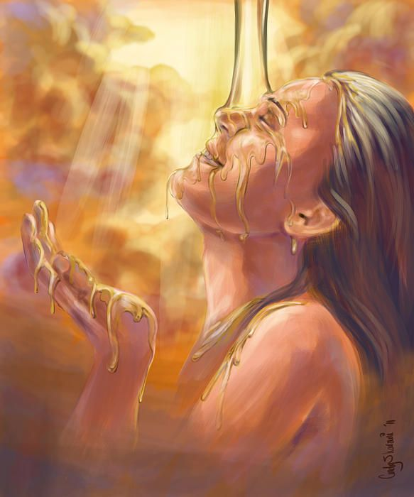 """Soaking in the Glory by Cindy  Elsharouni. 