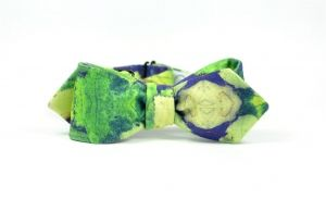 bow tie collection fall winter 2013 self tie bowties marthu LEAFS printed print