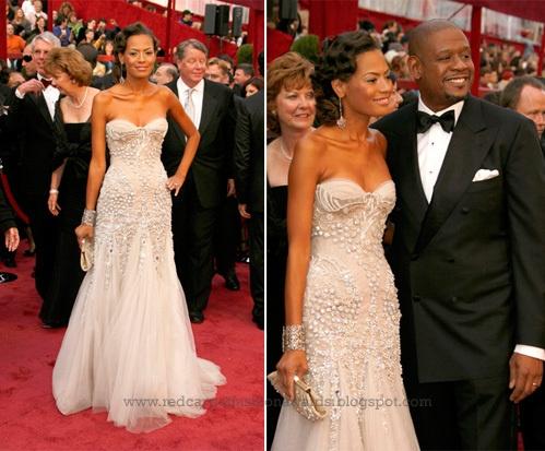 Keisha Whitaker wears J'Aton Couture at 2009 Oscars