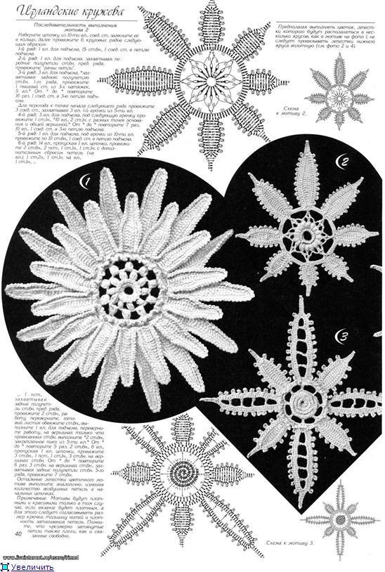 gehäkelten Blumen   Einträge in der Kategorie gehäkelten Blumen   Blog Irimed: Liveinternet - Russisch Service Online-Tagebücher
