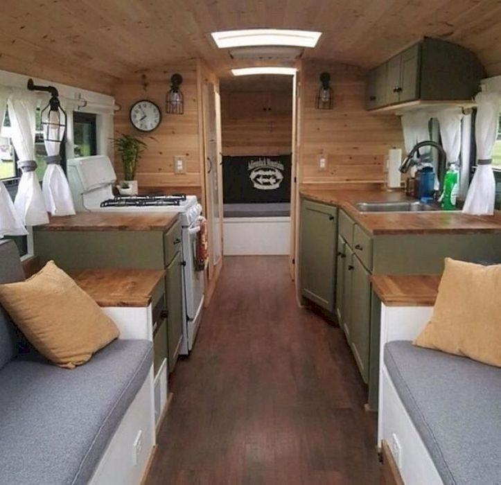 38 Best Rv Interior Design To Upgrade Your Style Road Camper
