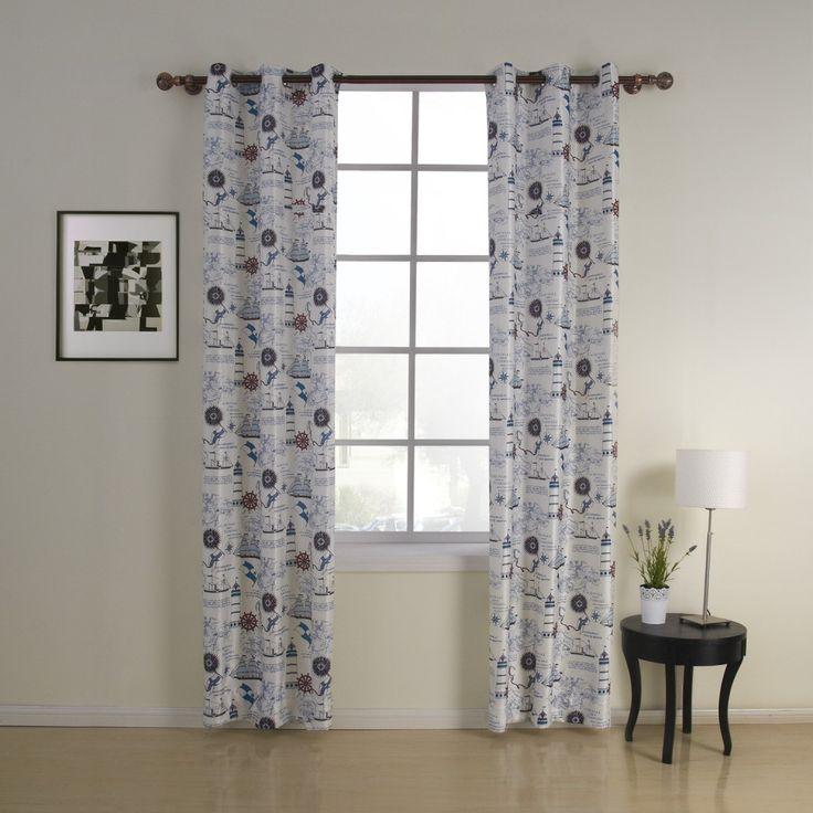 Contemporary Freedom Kids Curtain  #curtains #decor #homedecor #homeinterior #blue