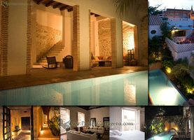Lujosas Casas en Cartagena De Indias Renta Casa para Grupos Turisticos Familias Invitados de Bodas Fiestas o Eventos Especial. Alquiler Casa...