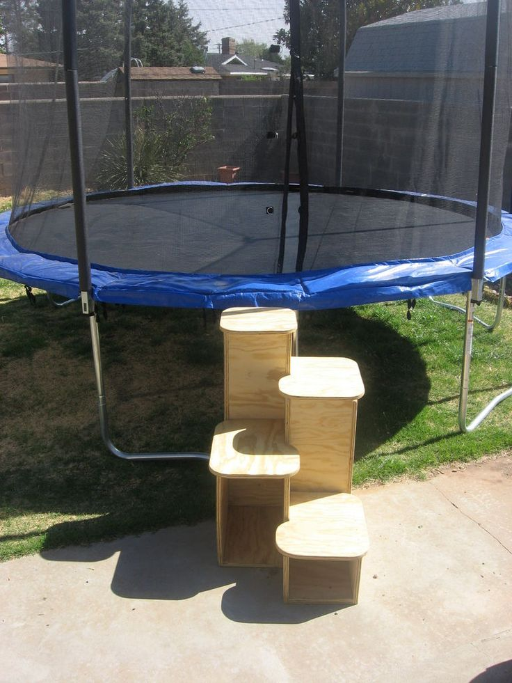 DIY   One Piece Of Plywood   Steps For Trampoline