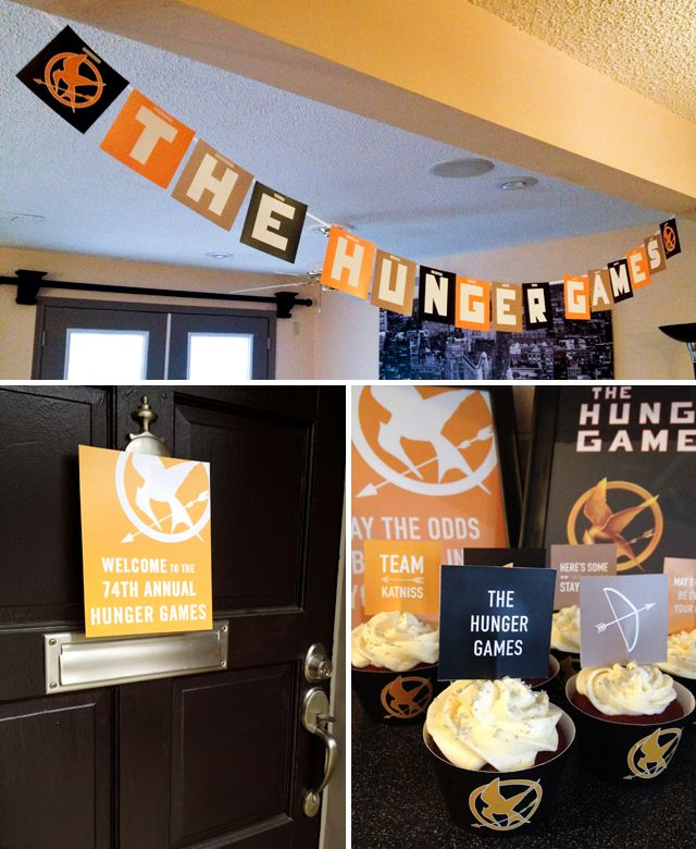 113 Best Images About Hunger Games Party On Pinterest