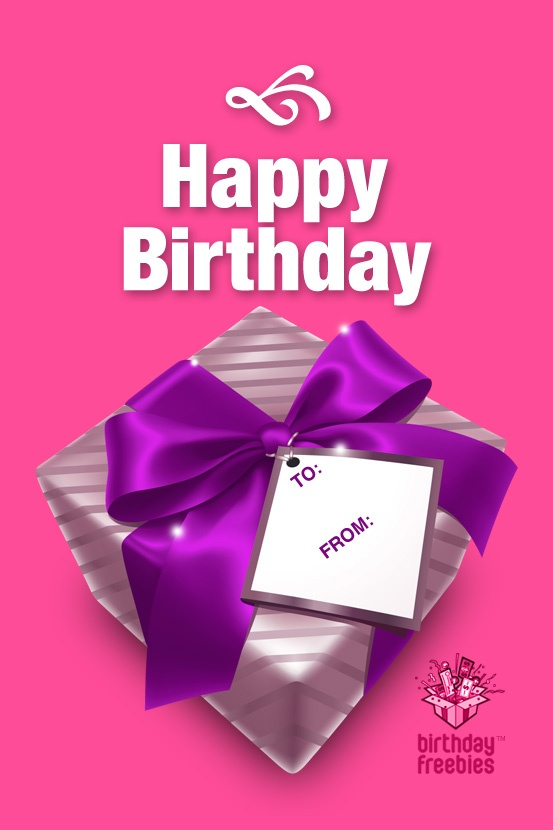 9 best Free Birthday Gift Pictures! images on Pinterest | Free ...
