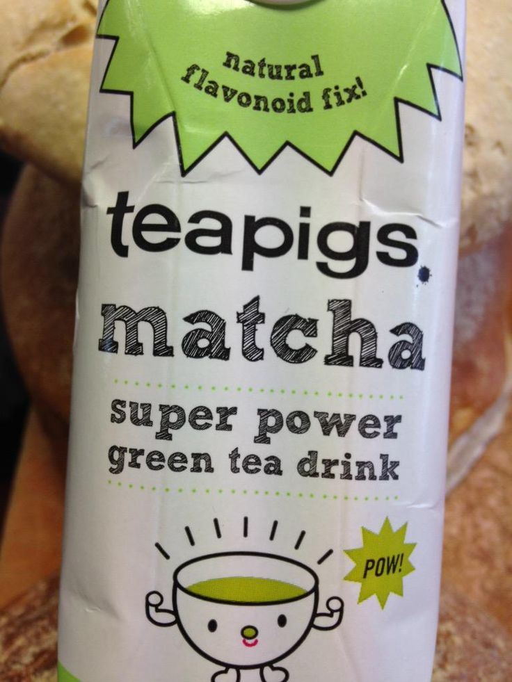 I get my kicks from the flavonoid fix! #Matcha @teapigs