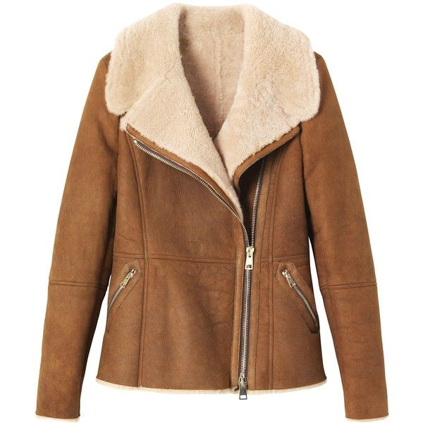 Toast Shearling Aviator Jacket found on Polyvore