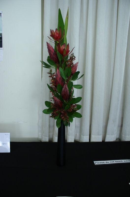 Vertical Design | Waverley Floral Art Show 2017