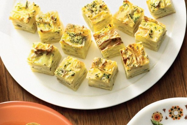 These tasty potato frittata bites make entertaining a breeze.