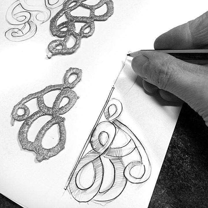 Sketches of the new collection by Anna Orska.