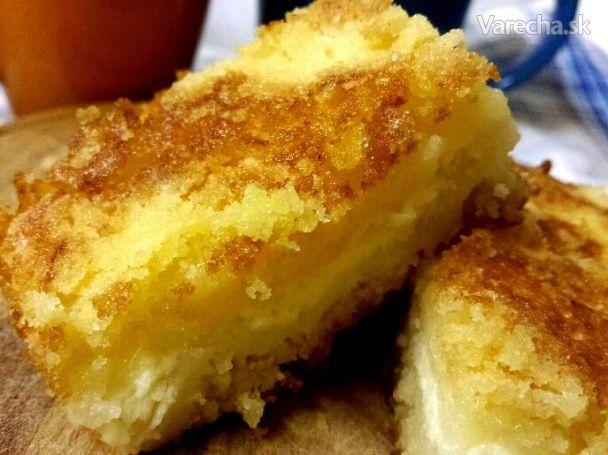 Sypaný tvarohový koláč (fotorecept) - Recept