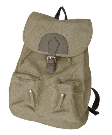 Amazon.com: Otium 20228NKA Leisure Canvas Bagpack Backpack, Military Khaki: Clothing