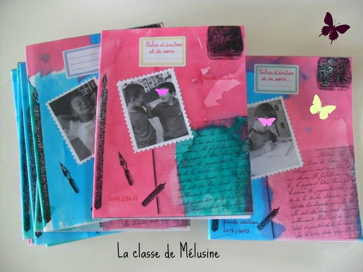 cahiers d'écriture