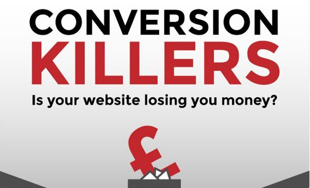 Conversion killers causing cart abandonment (Infographic) - Yomdel | Really Useful Chat