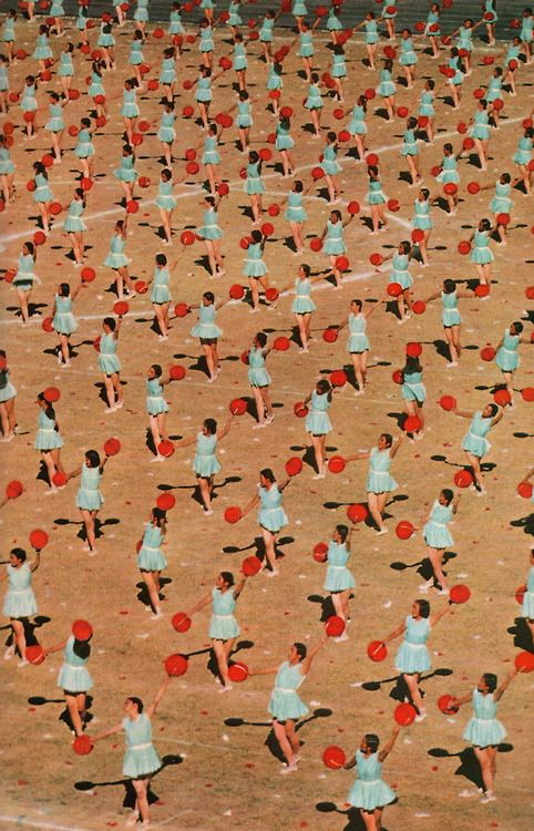 National Geographic, August 1960  Dancers during Red China's 10th birthday celebration.