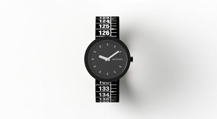 IlCentimetro Orologio Nero Unisex TimePlug TotalBlack http://www.gioiellivarlotta.it/product.php?id_product=1416
