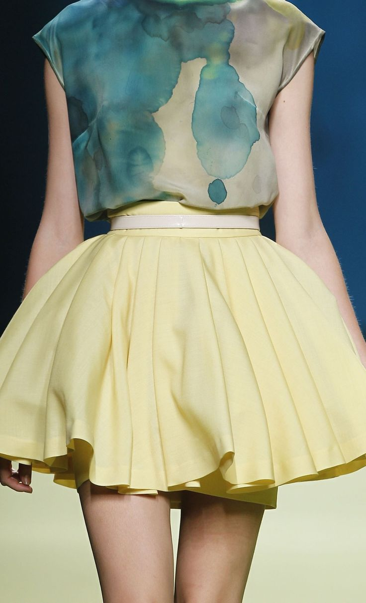 Pretty water colors / Duyos Spring 2011