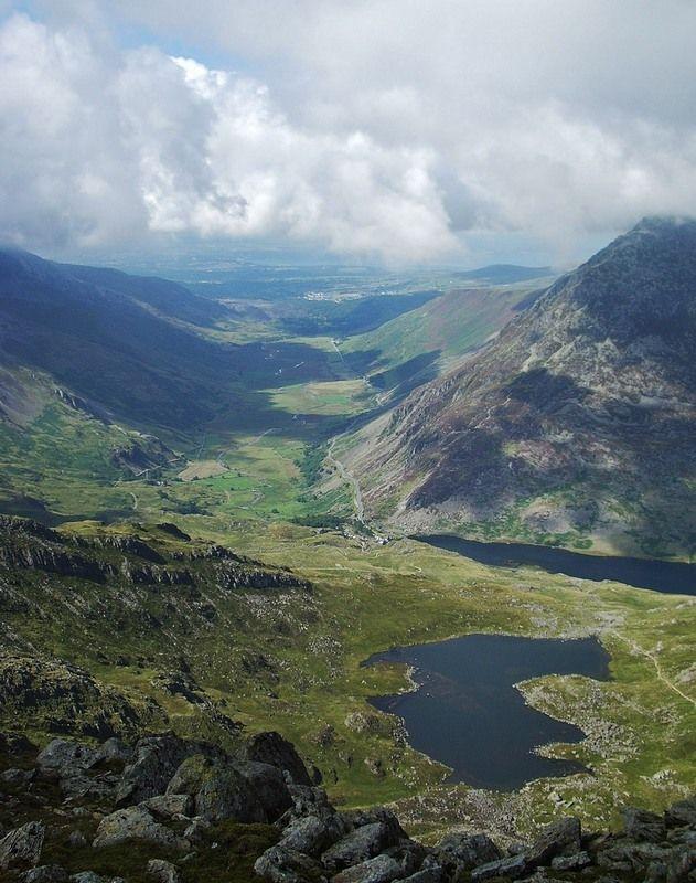 Snowdonia National Park, NW Wales Copyright: Dave UK (daverey)