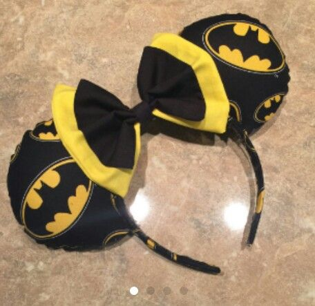 Batman Mickey Mouse ears