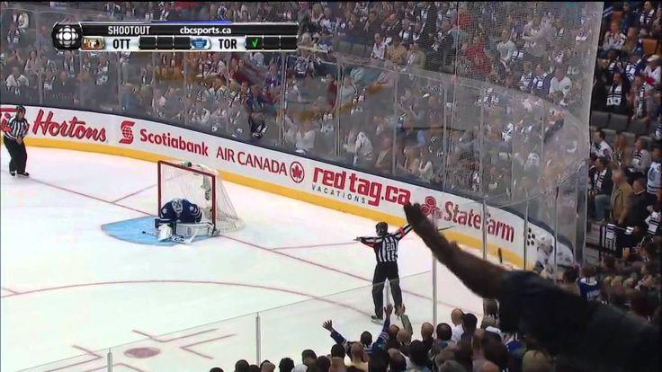 Shootout - Ottawa Senators Vs Toronto Maple Leafs. Mason Raymond Spinora...---use these teams