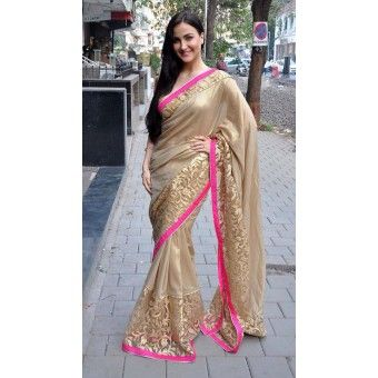 Elli Avram Saree with FREE shipping offer.