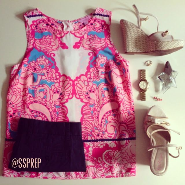 Sweet Southern Prep: Fashion Friday: OOTDs + J.Crew's Scalloped Dress is Back!