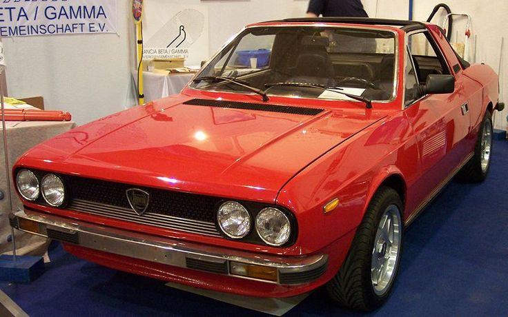 OK, had to pin the Lancia Beta too.