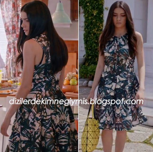 Medcezir - Eylül (Hazar Ergüçlü) H&M Dress