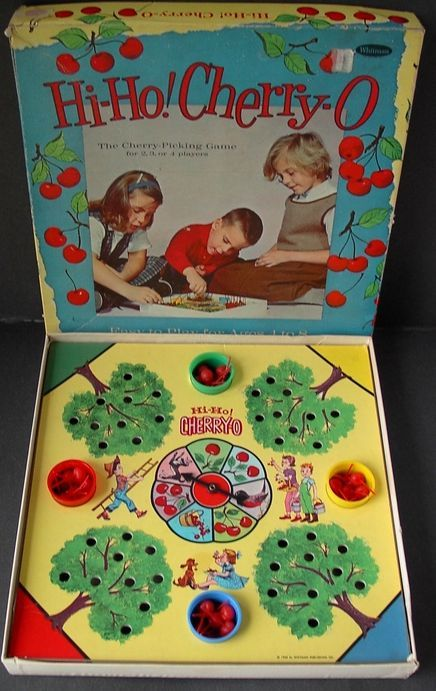 Along with Candyland, child favorite game.  Also, Chutes and Ladders.