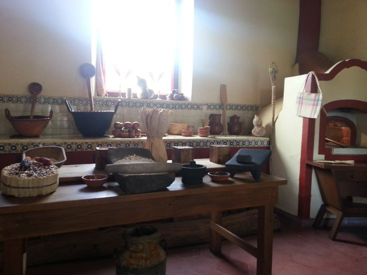 Foto Cocina De Hacienda Panoaya Antigua Casa De Sor