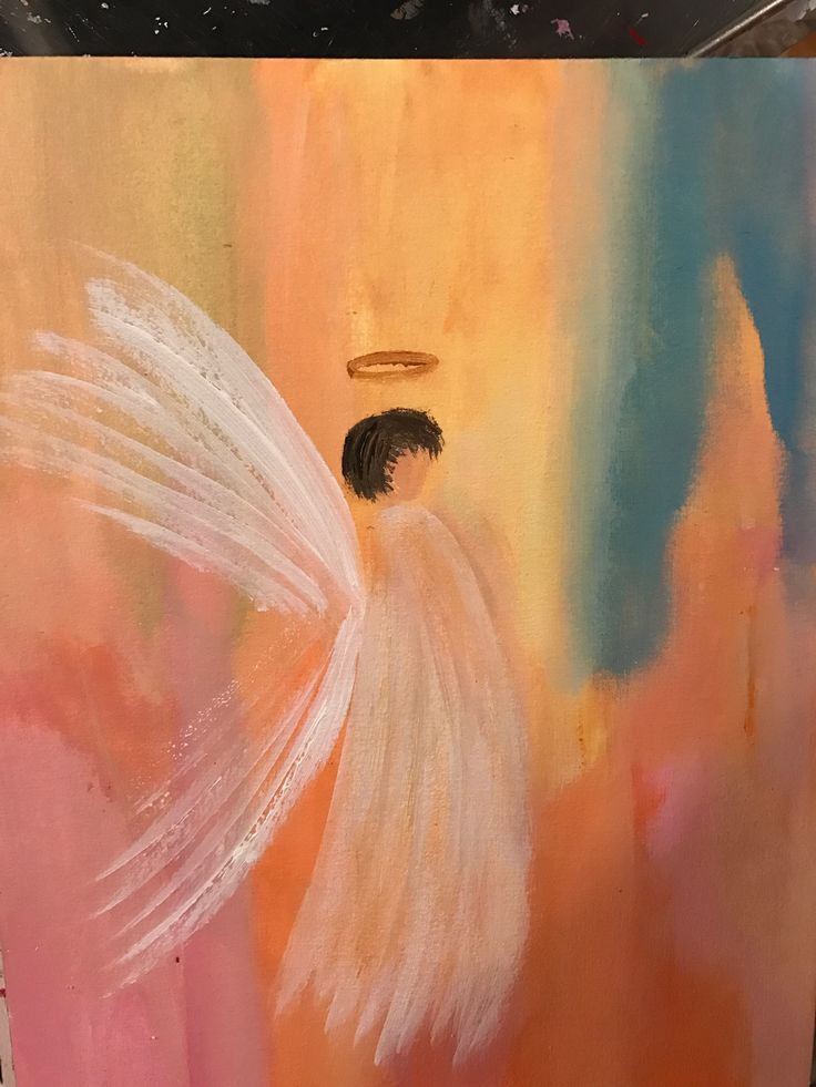 Happiness Angel.Sign by Maria Vane -Tempest. 2016