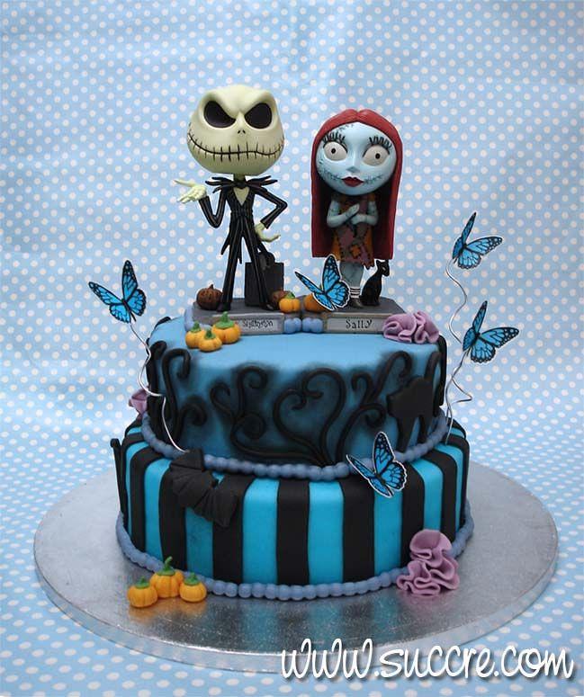 Tarta Boda Pesadilla Antes de Navidad - The Nightmare Before Christmas wedding cake - Wedding cake - Tarta boda