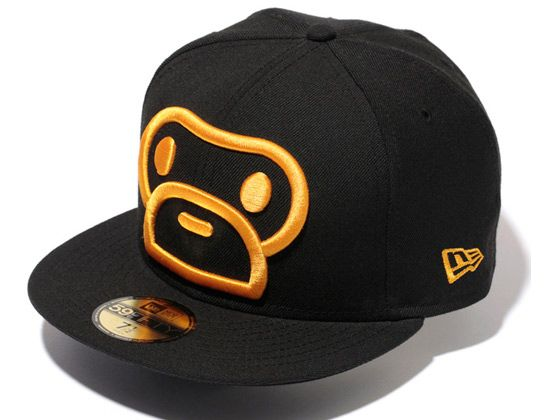 BAPE x NEW ERA「Milo」59Fifty Fitted Baseball Cap