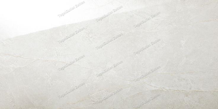 Wandtegel Sunny Gris 30x60 gerectificeerd - De wandtegel sunny gris is een licht beige wandtegel met een subtiele marmerstructuur onder het glazuur. Deze keramische wandtegel heeft glanzende uitstraling en is door de gezaagde zijkanten te verwerken met een minimale voeg. Deze tegel wordt veelal verkocht in combinatie met witte wandtegels en een donkere vloertegel 60x60