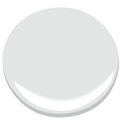 genesis white 2134-70 Paint - Benjamin Moore genesis white Paint Color Details: walls in living, dining, kitchen, and hall